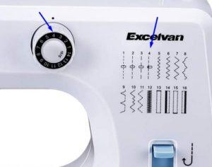 tipos de puntada maquina de coser